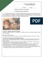 888revisão Revolução Francesa Resolvida Colegio Marista Excelente