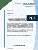 Nota a Don Ayala Romero Pampa 2-5-19