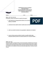 evaluacion corta 2