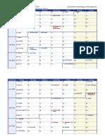 Wochenkalender 2022 Deutschland Feiertage