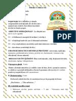 proiect de lectie la subiectul Motivatia invatarii