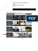 Locating Training Using the Cloud Service Provider Program Paths