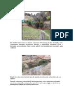 Geologia de campo(manantiales)