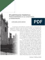 El patrimonio histórico