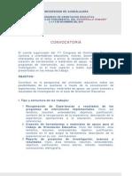 Convocatoria Mesas de Trabajo OE11