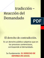 7 Contradiccion y Reaccion Del Demandado-1