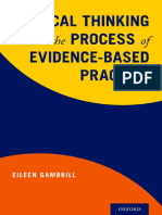 Eileen Gambrill - Critical Thinking and the Process of Evidence-Based Practice (2018, Oxford University Press, USA)