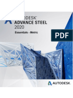 Advance Steel 2020 - Essentials Metric - Training Guide
