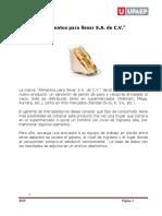 ABP 1. Alimentos Para Llevar S.a. de C.V.