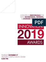 2019 Innovation Awards Program