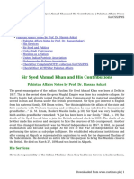 Sir Syed Ahmad Khan and His Contributions _ Pakistan Affairs Notes for CSS_PMS