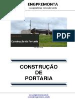 Construção de Portaria