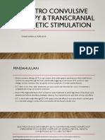 Electro Convulsive Therapy & Transcranial Magnetic Stimulation