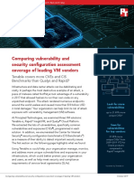 Comparing vulnerability and security configuration assessment coverage of leading VM vendors