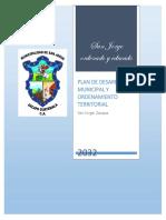 Plan de desarrollo San Jorge