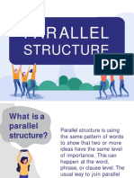 Parallel Structure Exp-1