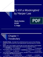 A Guide for ELA Grade 9-How to Kill a Mock. Bird