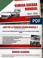 Primera Guerra Mundial Diapositivas