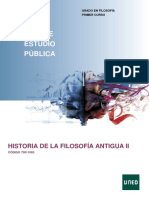 HIstoria Filosofía Antigua II UNED