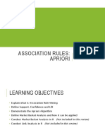 BusAn_Review_Lecture 5 Association Rules