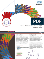 All Abouth Me Deaf Recovery Package Staff Guidance