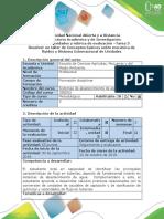 Guía de Actividades y Rubrica de Evaluación - Tarea 3 Conceptos Fluidos