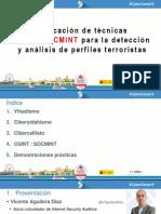 Aplicacion de Tecnicas OSINT y SOCMINT Para Perfiles Terroristas