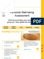 Tru Pshe Assessment Pwb