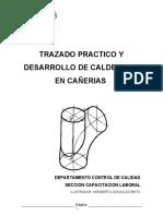 Trazado Práctico de Calderería en Cañerías - APTEC