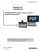 SITRANS F Profibus PA DP Profile 3 Add-On Module for MAG 6000 and MASS 6000 Operating Instructions En