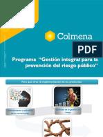 Presentación Programa Riesgo Público