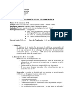 3. Diario de Campo Descripcion Del Trabajo de Seguimiento
