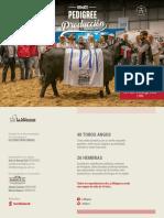 Catálogo Pedigree de Producción