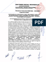 Acta Buena Pro LP 02 -2019 Segunda Convocatoria (SAP Pedregal)