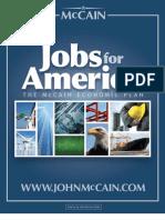 John McCain's Jobs for America