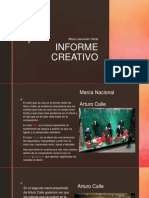 Informe Creativo