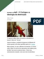 Mises Brasil - O Coringa e a Ideologia Da Destruição