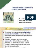 Factores Protectores y de Reiesgo Del Suicidio