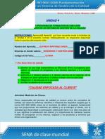 Solucion Actividad Unidad 4 Calidad Enfocada Al Cliente OK (1) (1)