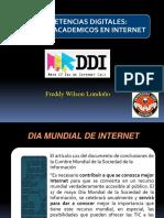 servicios académicos - Internet