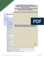Manual de Procedimientos Del Programa Ampliado de Inmunizaciones Del Ecuador (1)-Convertido