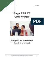 SX302 - Sage ERP X3 Outils Avancés - V6 1 - Support de Cours