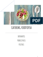 Catálogo Platos Foodtopía