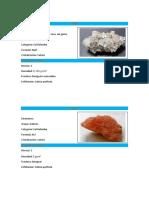 Sales Haloideas (Minerales)