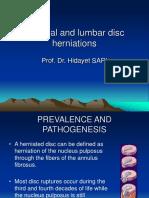 Servical - Lomber Disk Herniation