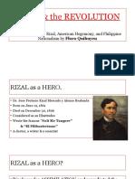 Rizal the Revolution