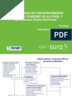 Estrategias de Psicoprevención Frente Al Consumo de Alcohol y Sustancias Psicotrópicas