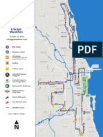 Chicago Marathon Course Map