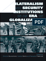 Multilateralism and institutions
