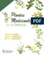 Cuaderno Plantas Medicinales Farmacia